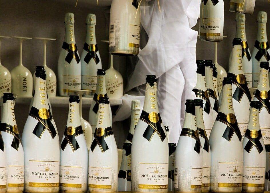 champagneflasker